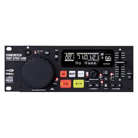 RELOOP RMP-2760 MP3 USB Tupla CD Soitin, Soittimessa mukana kaikki tärkeimmät DJ sekä kuntosalikäyttöön tarvittavat ominaisuudet, Loistava tuote myös Musiikki-pubiin tai DJ käyttöön, Dual CD player!