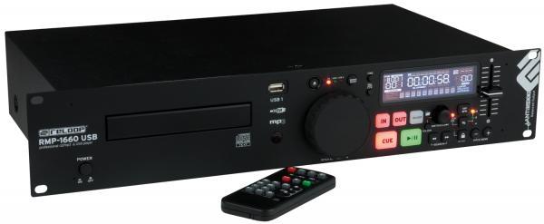 RELOOP RMP-1660 MP3 USB CD Soitin, Soitt, discoland.fi