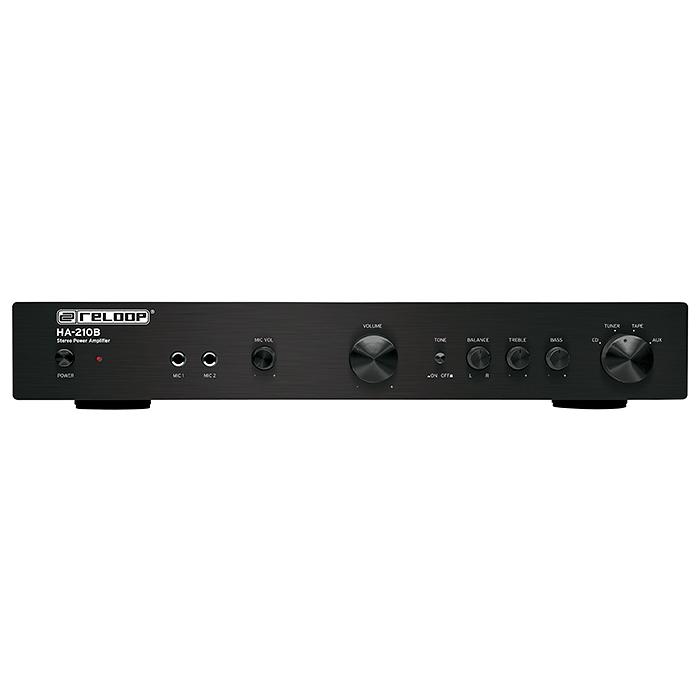 RELOOP HA-210B Hifi stereo vahvistin, 2x, discoland.fi