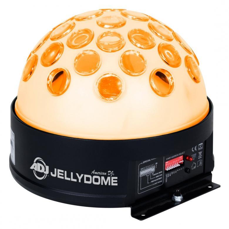 ADJ Jelly DOME LED DMX512 valoefekti lä, discoland.fi