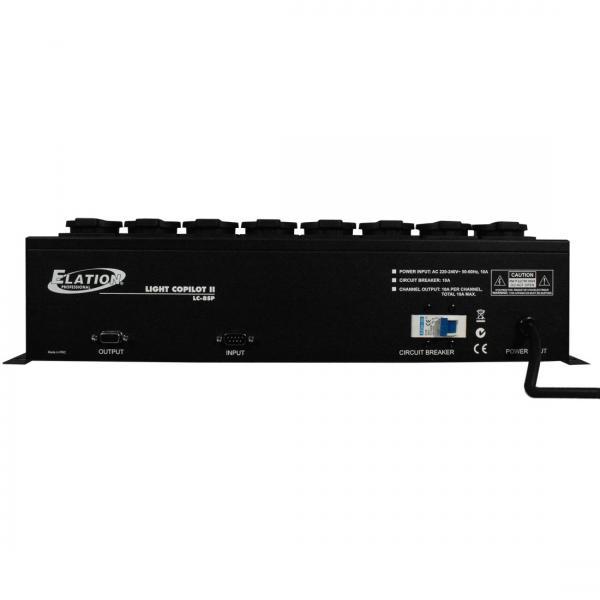 ELATION Power distributor 8 kpl suko. 8- kanavainen power distributor, räkkikokoko.