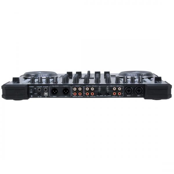 AMERICANAUDIO Poisto!B-Stock! VMS4 VIRTUAL DJ DJ-kontrolleri! Sopii mobiilikäyttöön tai kiinteään asennukseen!Traktor yhteensopiva!