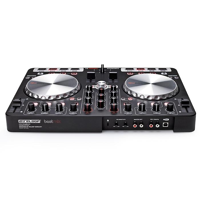 RELOOP DEMO:BeatMix DJ-kontrolleri on varustettu interface VIRTUAL DJ LE (limited edition) softalla ja interfacella. Todella hieno DJ kontrolleri isoilla JOG wheel haku scratch pyörillä. Kompakti je helposti mukana kulkeva BeatMix on helppo yhdistää tietokoneeseesi. Useilla näppäimillä ja ohjaimilla varustetun mikserin käyttömukavuus on parempi kuin näppäimistön ja hiiren käyttäminen. Mitat 420 x 274 x 41mm sekä paino 1,9kg. viileehinta