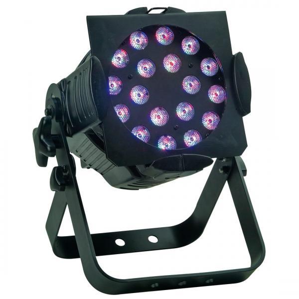 ELATION OPTI TRI PAR, 18x 3W TRI LEDs (=, discoland.fi