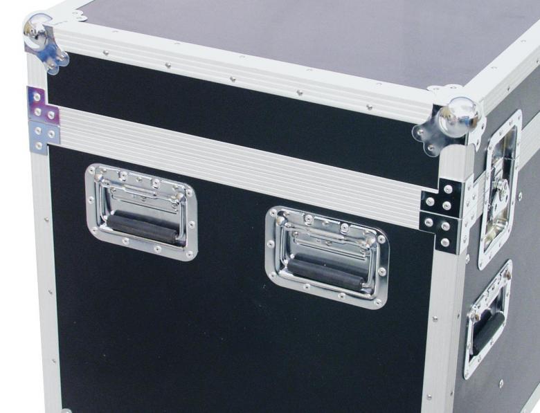 OMNITRONIC Yleismallinen kuljetuslaatikko pyörillä. Universal tour case with castors 120 cm. Professional flight case with castors