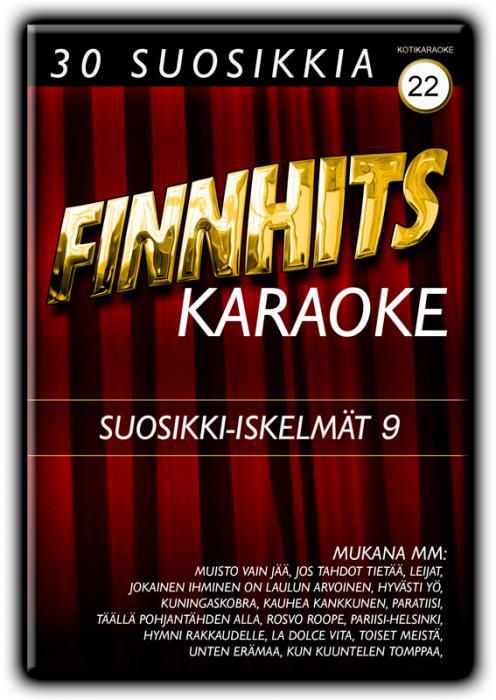 FINNHITS VOL 23-Suosikki-iskelmät 10 DV, discoland.fi