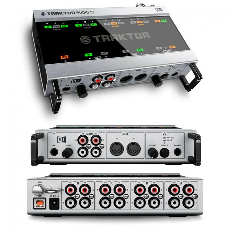 NATIVE INSTRUMENTS Traktor Scratch Pro A10 aikakoodisetti interfacella. Professional DJ system Softa+ Interface sekä Aikakoodilevyt!Ensimmäisessä kuvassa näet pakkauksen sisällön kokonaisuudessaan.  Traktor on ehdottomasti arvostetuin softa tiskijukkien keskuudessa ja useat huippunimet käyttävät native Instrumentsin valmistamia DJ tuotteita! Paketin mukana tulevat Hardware - Interface, Software- Tractor PRO, kytkentä kaapelit sekä aikakoodilevyt