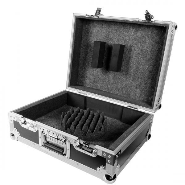 ACCU-CASE ACF-SA/PROTEK TT PRO Kuljetuslaatikko levysoittimelle, laadukas ja kestävä, väri musta, soveltuu mm. Technics, Omnitronic, Numark soittimille.