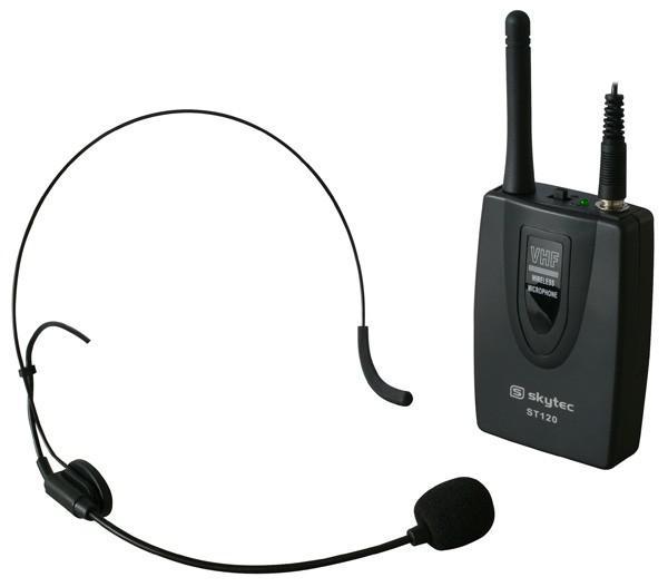 SKYTEC ST-120 Siirrettävä Aktiivikaiutinjärjestelmä akkukäyttöinen, DVD/CD/USB/SD/VHF. Langaton käsimikki sekä langaton päämikki! Totaalisen langaton järjestelmä. Akkukäyttöinen DVD/CD/MP3 soittimella varustettu siirrettävä setti. 8