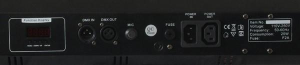 POISTO Beamz Fusion Tri Fix Pro Bar LED DMX, Effect with LED technology, LED-valoefekti!