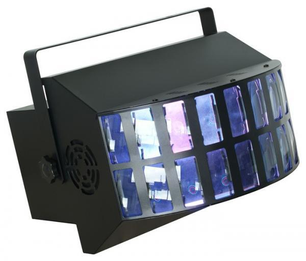 BEAMZ Atlas LED Double Derby 6x3W, LED E, discoland.fi