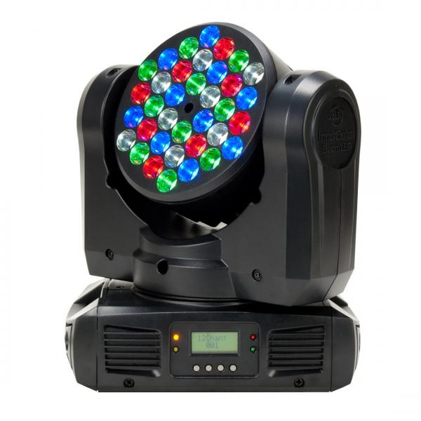 ADJ Inno Color Beam LED DMX moving Head , discoland.fi