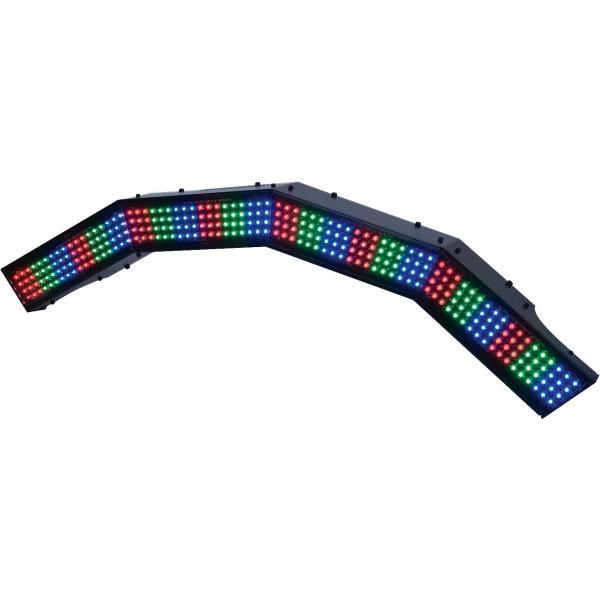 AMERICANDJ Mega Pixel ARCH, Professional RGB bar with LED technology. Ammattitason LED parru 288 5mm ledeillä! Kun tilaat 4kpl saat aikaiseksi ympyrän!