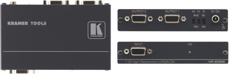 KRAMER VP-200K VGA jakovahvistin 1VGA si, discoland.fi