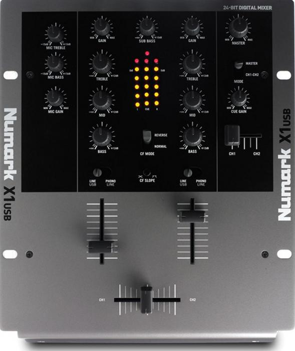 NUMARK X1USB Professional Scratch Mixer,, discoland.fi
