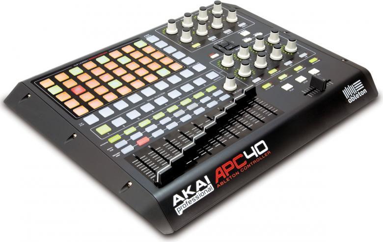 AKAI APC40 Ableton Live-ohjain, kontroll, discoland.fi
