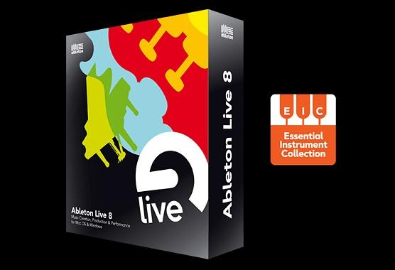 ABLETON Live 8 PÄIVITYS, lite versiosta Upgrade from Live Lite (incl. EIC)
