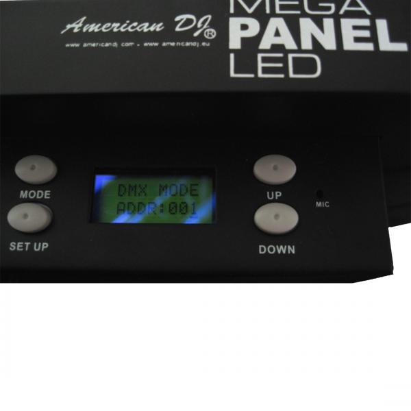 AMERICANDJ Poisto!Mega Panel LED, Professional RGB bar with LED technology. Ammattitason LED FLOOD 288 10mm LEDILLÄ!