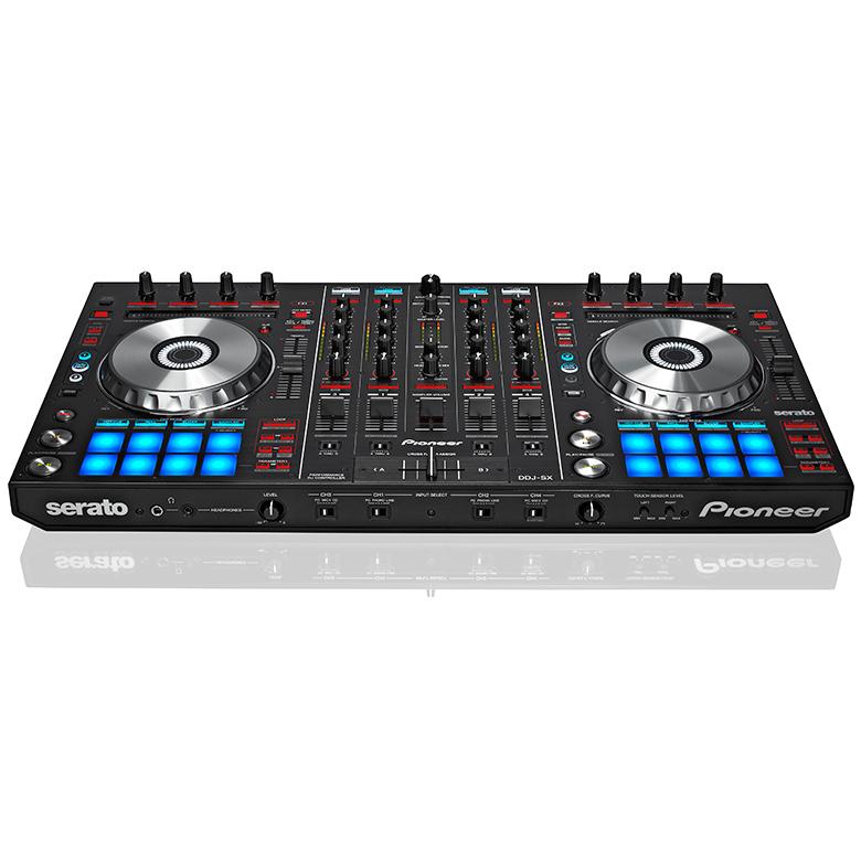 PIONEER DDJ-SX DJ kontrolleri, Pioneer P, discoland.fi