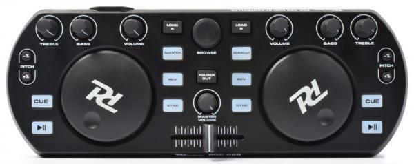 POISTO Powerdynamics PDC-08 Musta DJ kontrolleri Mixvibes softalla. Midi Controller Black, incl. MixVibes. Ei sisällä interfacea!Todella näppärä pikku kontrolleri musiikin miksaamiseen. Mukana Mixvibes ohjelmisto. Voit miksata kappaleita helposti myös ilman kuulokkeita SYNC toiminnetta käyttämällä. Tämän laitteen otat helposti mukaan bileisiin.. Kytket vain kiinni tietokoneeseen ja voit soittaa musiikkia DJ tyyliin. Toimii PC ja MAC.