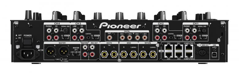 PIONEER DJM-2000NXS DJ mikseri clubiin on parasta mitä rahalla saa! UUSI Beat Slice Raitojen samplaamiseen tai liu'uttamiseen ja spontaaniin luovuuteen.  Taajuus-remix  Seitsenkaistainen cross fader (kosketus), jonka avulla DJ voi valita, mitkä taajuudet ovat miksauksessa mukana.
