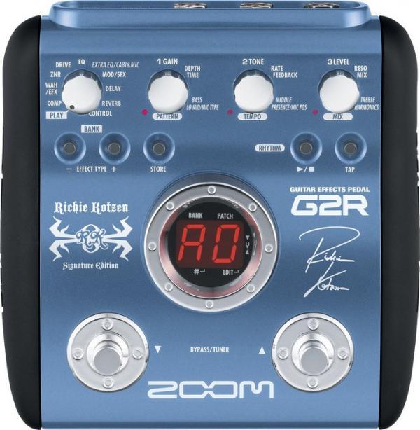 POISTO Zoom G2R Ritchie Kotzen multiefek, discoland.fi