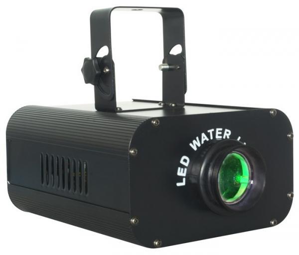 BEAMZ Poisto!!H2O Pro Water LED Effect, Effect with LED technology, LED VESI-valoefekti! 20W valoefekti joka simuloi veden liikettä useilla eri väreillä. Erittäin tehokas 20W led valo. Kytke vain virta ja monipuoliset musiikin kanssa ohjatut ohjelmat saavat tanssilattiasi elämään! 200 x 115 x 270mm sekä paino 3.1kg .