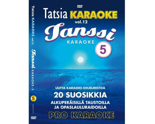 TATSIA Kotikaraoke Vol 12 Tanssi 5 - DVD, discoland.fi