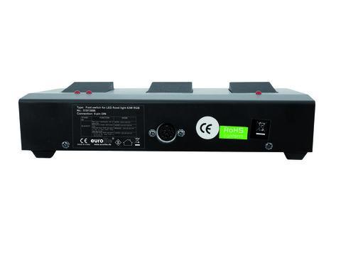 EUROLITE Foot switch for LED FLD-63 RGB 63x1W.