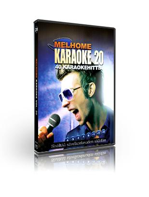 MELHOME Vol 20 KARAOKE DVD levyllä on 4, discoland.fi