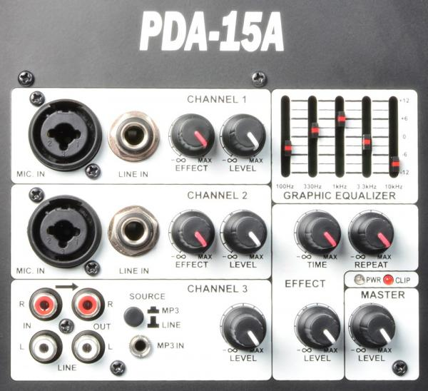 POWERDYNAMICS <b>B-STOCK!!!</b> PDA-15A 2-tie 15