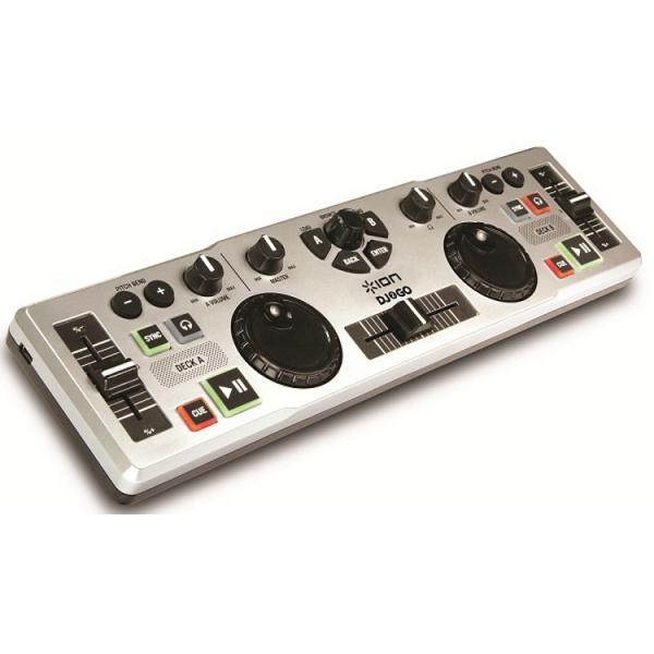 IONAUDIO DJ2GO DJ-kontrolleri to GO, jok, discoland.fi