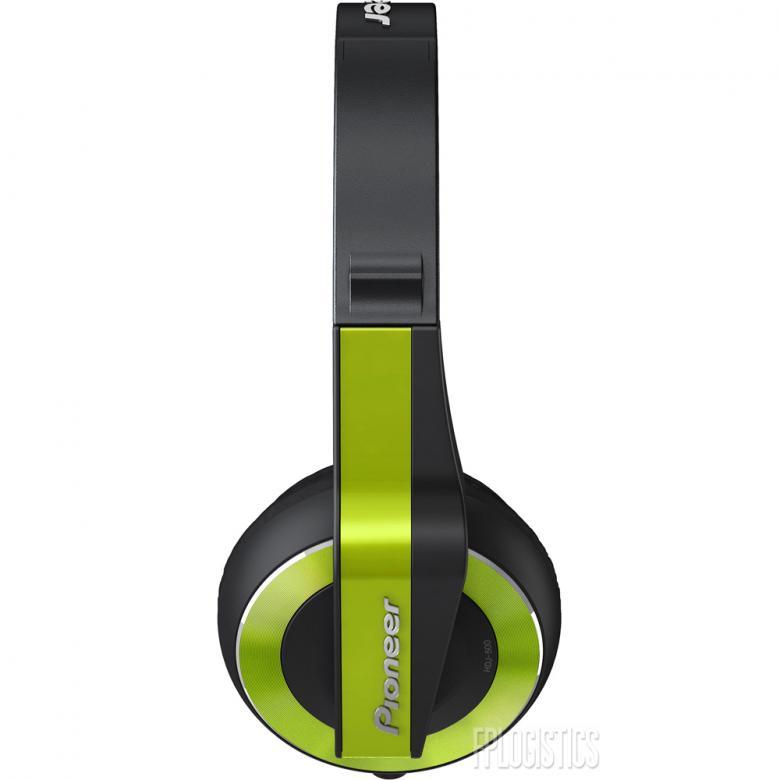 PIONEER HDJ-500 vihreä Dj kuuloke Väri Lime Green on suunniteltu joustavaa DJ-elämäntyyliä varten; ne sopivat sekä koti-DJ:n käyttöön, klubille että oman tanssimusiikin äänentarkkailuun reissussa.