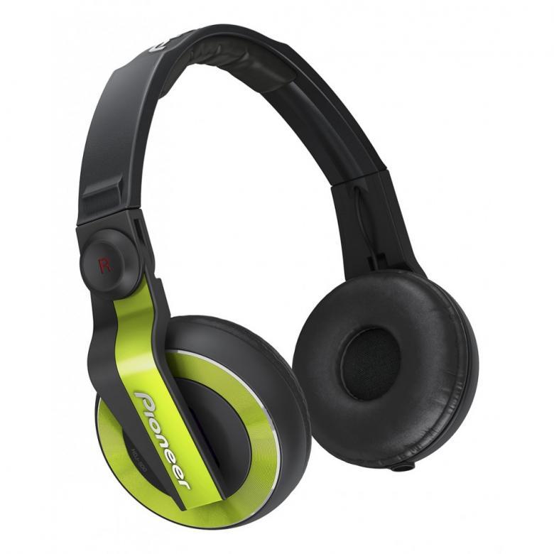 PIONEER HDJ-500 vihreä Dj kuuloke Väri, discoland.fi