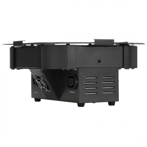 ADJ QWH12X FLAT PAR valonheitin 12x 5W QUAD LEDiä. Värit Punainen, vihreä, sininen sekä valkoinen. Todella tehokas sekä loistavalla laadulla oleva Flat par heitin tehokkailla QUAD  color ledeillä. 25 astetta aukeamiskulma. Mukana softcase, voidaan ohjata myös erikseen ostettavalla IR ohjaimella RC2  Mitat 328x280x115mm sekä paino 3.2kg.