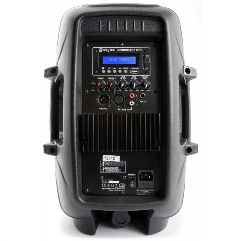SKYTEC SPJ-1200ABT MP3 BT Aktiivikaiutin 12