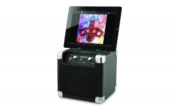 IONAUDIO ION Audio Road Rocker Black, akkukäyttöinen Bluetooth langattomalla vastaanotolla!