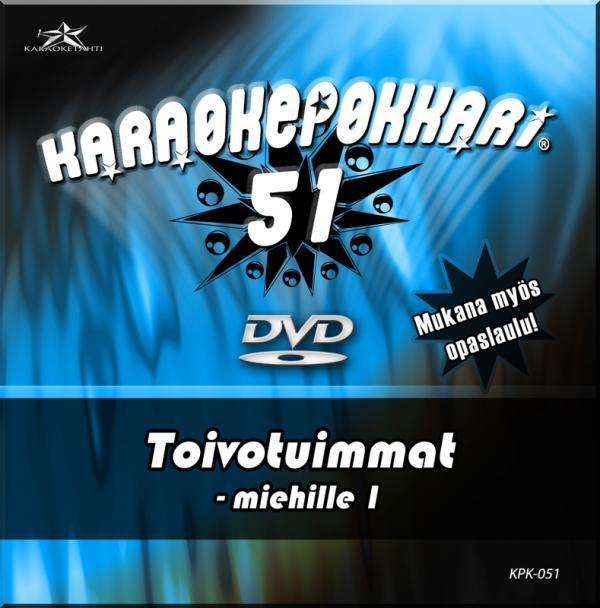 KARAOKEPOKKARI DVD Karaokepokkari 51 - T, discoland.fi