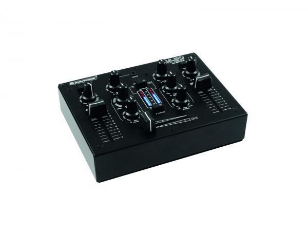 OMNITRONIC PM-211 Pieni ja näppärä DJ mikseri, 2 (2x phono, 2x line) sekä aux sisäänmeno! Sopii vaikka pienen pubin tai DJ käyttöön. Uusi ja nykyaikainen muotoilu, jonka huomaa!