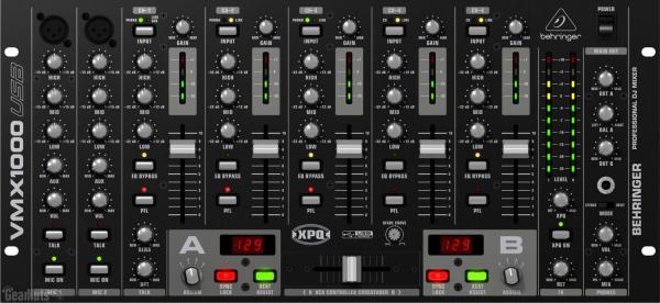 BEHRINGER PRO MIXER VMX1000 USB 7-kanava, discoland.fi