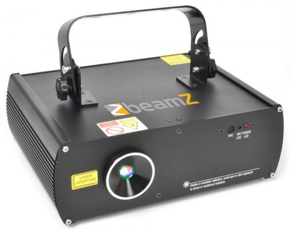 BEAMZ LS-3D RGB Laser valoefekti punaine, discoland.fi