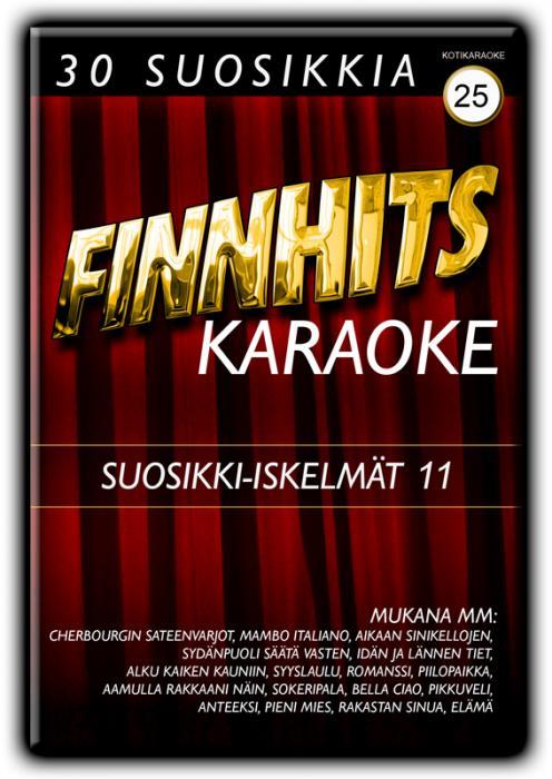 FINNHITS VOL 25-Suosikki-iskelmät 11 DV, discoland.fi