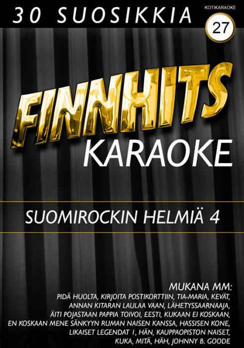 FINNHITS VOL 27 DVD karaoke-SUOMIROCKIN , discoland.fi