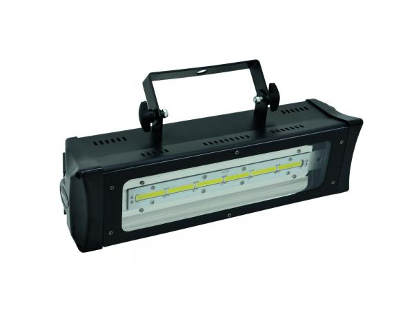 EUROLITE LED Strobe COB PRO 6x 10W, DMX- tai ääniohjauksella, todella HUIPPU tehokas.