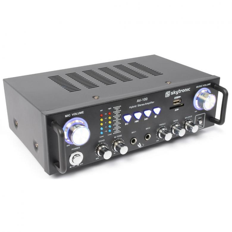 SKYTRONIC AV-100 Mini Stereo Karaoke vah, discoland.fi