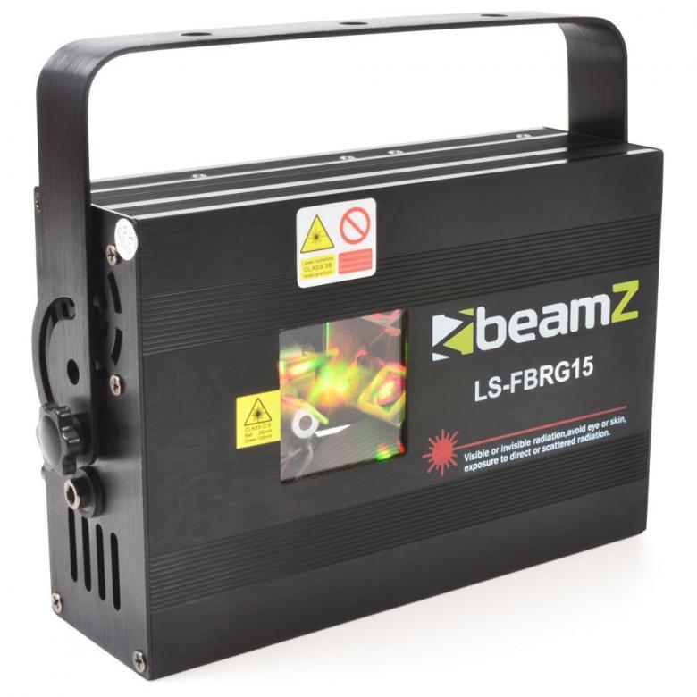 BEAMZ LS-FBRG15 Fat Beam laser RED-GREEN, discoland.fi