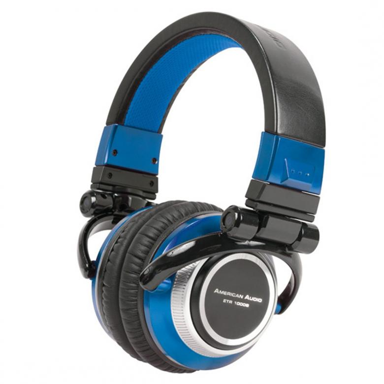 ADJ ETR1000 Blue DJ-kuulokkeet DMC, on m, discoland.fi