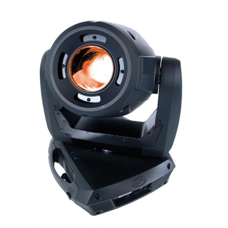 ELATION Platinum Spot LED II Moving head, Erittäin tehokas LED moving head 135W valkoisella valolähteellä! 135W, 10358 Lux @ 2,5m, 16° fix beam angle!