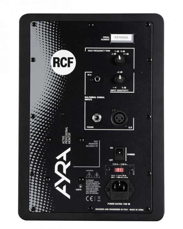 RCF AYRA six musta aktiivikaiutin/kpl 6