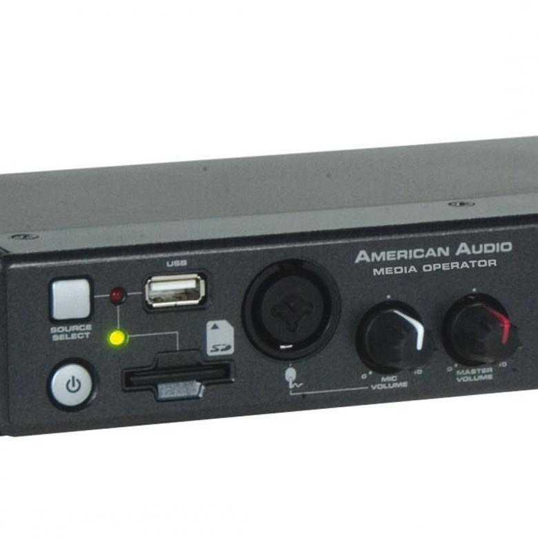 AMERICANAUDIO Media Operator, ammattitason SD + USB soitin.